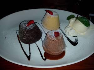 mix lava cake (35k)
