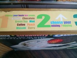teppanyaki ice cream
