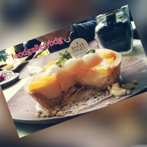 peach lychee tart (40k)