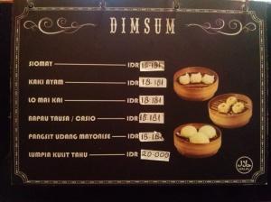 menu dimsum
